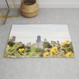 Chicago in August Rug