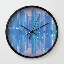 Blasting Waves Wall Clock