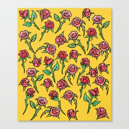 Roses Rose Gardner Canvas Print
