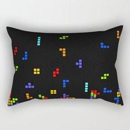 Tetris Time Rectangular Pillow