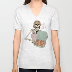 Even In Death Unisex V-Neck