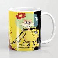 spongebob Mugs featuring Kill Spongebob by thunderbloke!