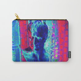 Blue Bust Carry-All Pouch