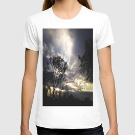 Peaceful and powerful sunset T-shirt