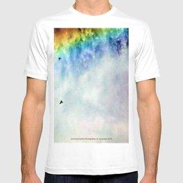 Shoshone Falls Idaho - Flying through Rainbow Falls - Jeronimo Rubio Photography T-shirt