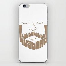 Hubba Hubba Husband iPhone & iPod Skin