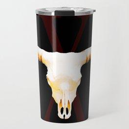 Texas Longhorns By Sharon Cummings Travel Mug