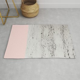 Blush on Concrete #1 #decor #art #society6 Rug
