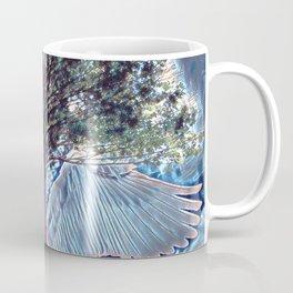 Tree of Life with Angel Wings Coffee Mug