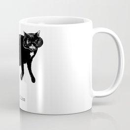 Sprawl Lion B&W Coffee Mug