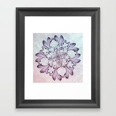 Floral abstract . Framed Art Print