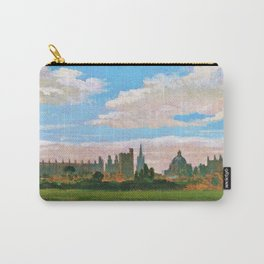 A View Of Oxford - William Turner Carry-All Pouch