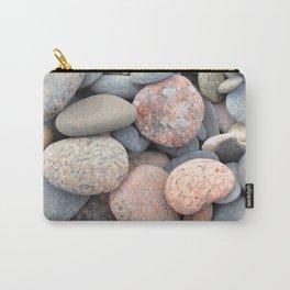 Watercolor Rock, Pebbles 05, Cape Breton, Nova Scotia, Canada, No Worries Here Carry-All Pouch