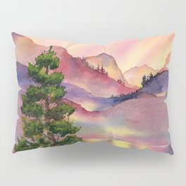 Sunset in the Mountains Pillow Sham