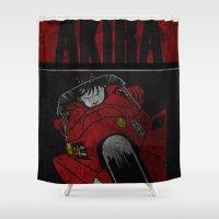 akira Shower Curtains featuring AKIRA by Zorio
