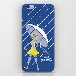 Let's Get Salty iPhone Skin