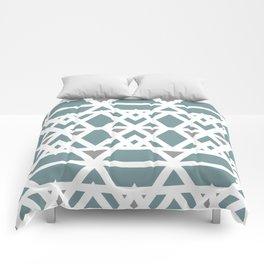 Sea Blue  Comforters