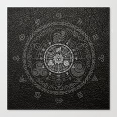 Legend Of Zelda Hyrule Historia Canvas Print