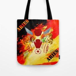 Birth Sign Aries Tote Bag