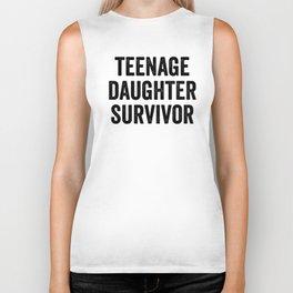 Teenage Daughter Survivor Biker Tank