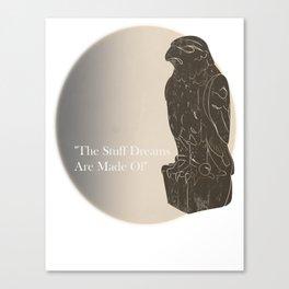 The Black Bird of Legend Canvas Print