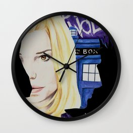 Her Name Was Rose Wall Clock