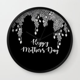 Psithurism II - Happy Mother's Day Wall Clock