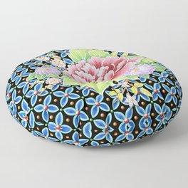 Brocade Bouquet Floor Pillow