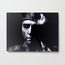 Hommage to Christopher Walken Metal Print