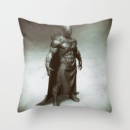 Evil bat 2 Throw Pillow