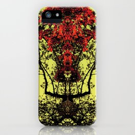 majestic - yellow iPhone Case