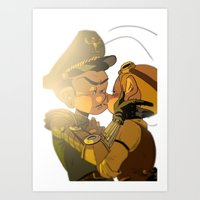 my general Art Print