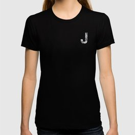 The Letter J- Stone Texture T-shirt
