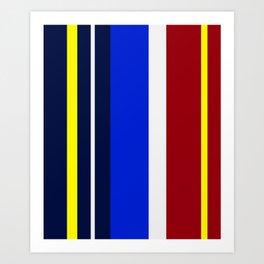 Rhythm of Colors Art Print