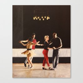 Brooklyn Swings on Friday Canvas Print