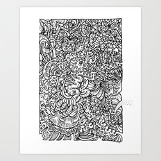 Elaborate Escape Art Print