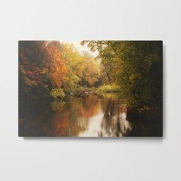 A Wisconsin River Metal Print