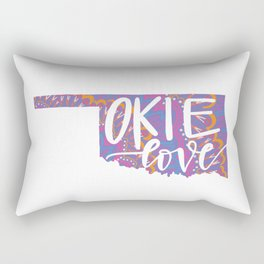 Okie Love Rectangular Pillow