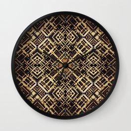 Latticework Wall Clock