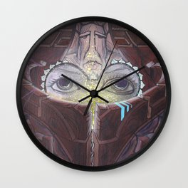 Ancient Traveler Wall Clock