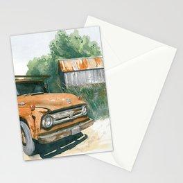 Farm Truck Stationery Cards