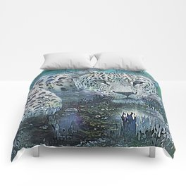 Leopard Abstract Comforters