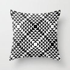 Geometric Tribal Throw Pillow