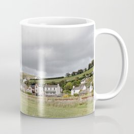 The quaint cumbrian village of Kirkby-in-furness Coffee Mug