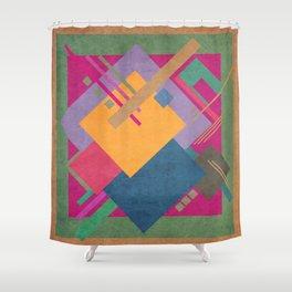 Geometric illustration 49 Shower Curtain