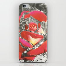 Exploded Rose iPhone Skin