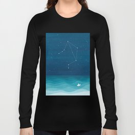 Libra zodiac constellation Long Sleeve T-shirt