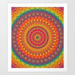Mandala 507 Art Print