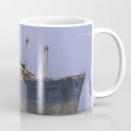 Blue boat colors fashion Jacob's Paris Coffee Mug
