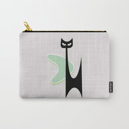 Mid Century Atomic Boomerang Cat Carry-All Pouch
